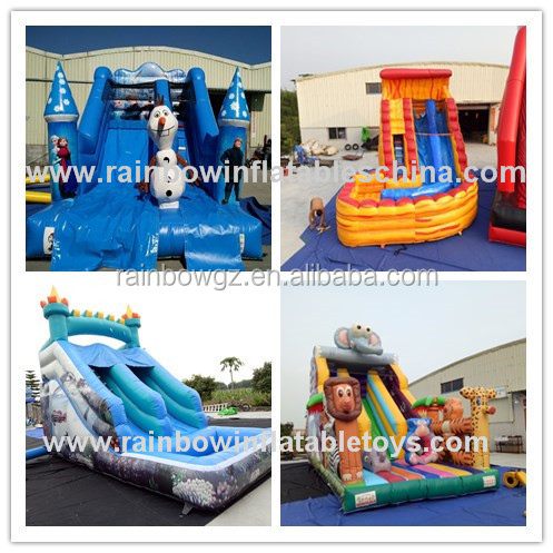 New Arrival Cheap Inflatable Water Slides For Sale,Giant Inflatable Slide