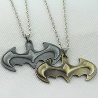 Movie Series Batman necklace Chaveiro Llavero bat man pendant necklace KN-203