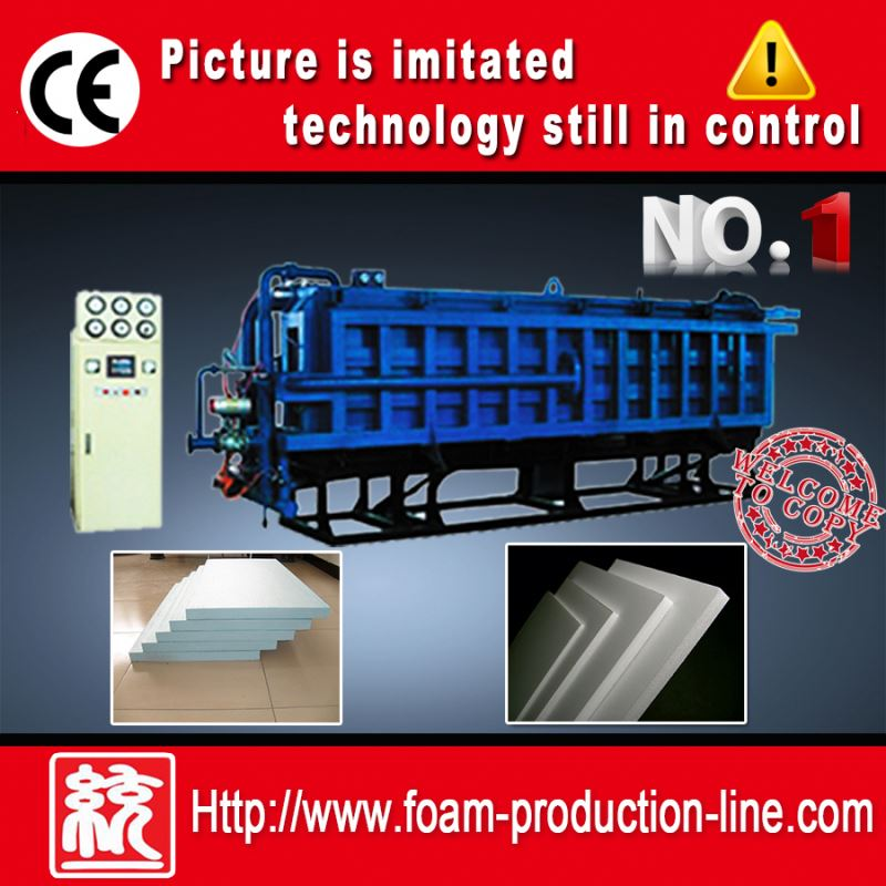 expanded polystyrene foam machine for insulation building