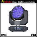 2016 high quality 91pcs 3w RGBW led zoom wash moving head stage light