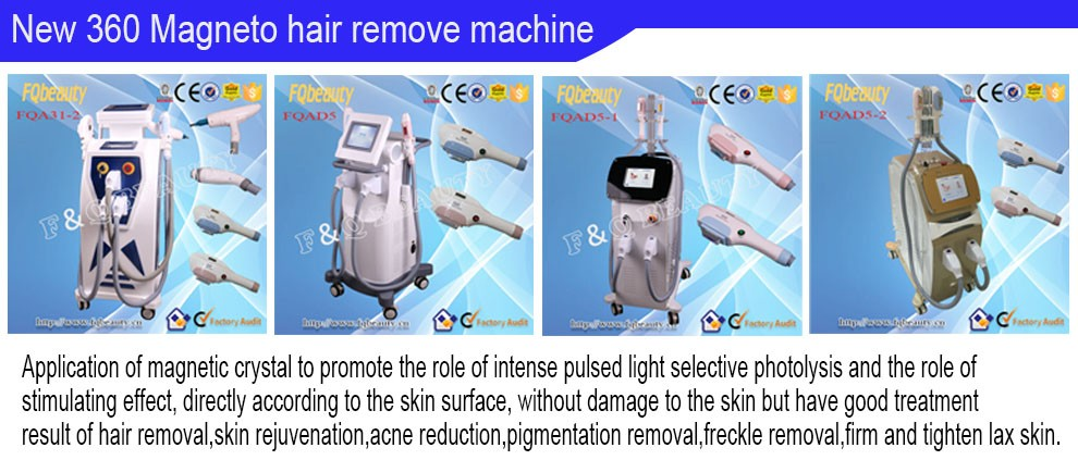 Portable OPT SHR ipl electrolysis hair removal machine/SHR IPL hair remover/hair removal products for sale FQA20-1