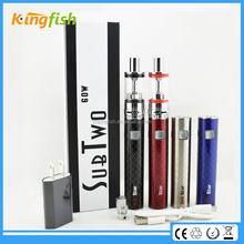 Christmas gift Sub Two 60W penis shaped big battery e cigarette hong kong