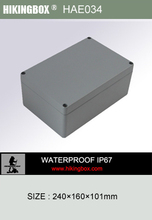 IP65 waterproof casing box/Waterproof IP66 plastic switch box HPE034