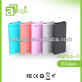 Real capacity Polymer 13000mah Manufacturer Portable Power Bank from 2600mAh to 13000 mAh dual output