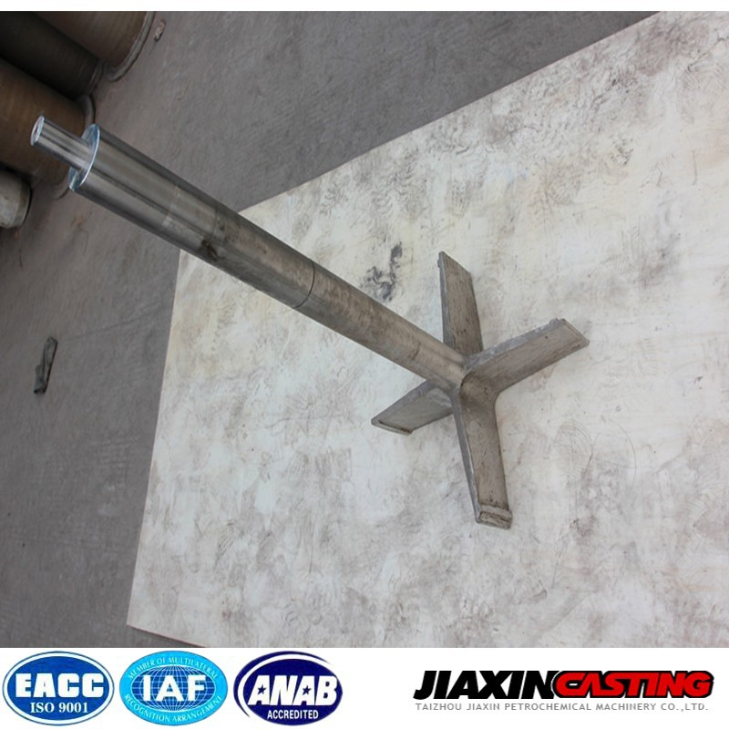Precision casting heat treatment casting fans used in furnace