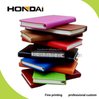 Customize high quality western style pu leather notebook