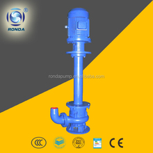 NL standard specification of submersible water pump slurry pump