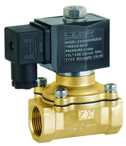 ZX20-15 1/2inch 2/2way General serives normally closed brass solenoid Valve