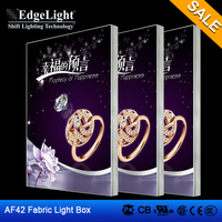 AF42 LED Slim Fabric Single side Light Box Fabric displays led backlit light Case