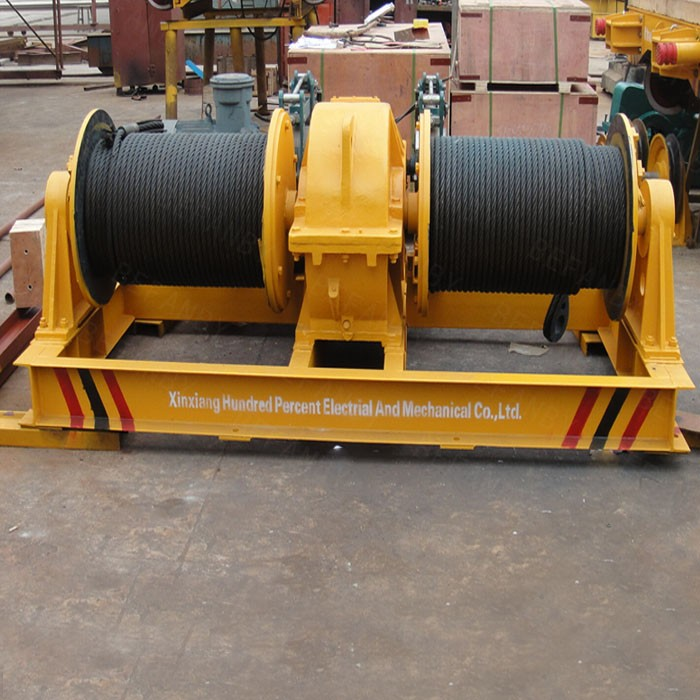 Rope Pulley Drive : Electric rope pulley hoist view