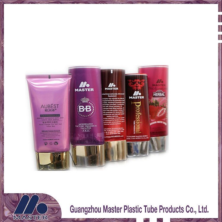 Laminated plastic hand cream,hair remover, facial cream cosmetics tube