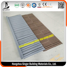 SGB Charcoal Clor Stone Coated Shake Panel Steel Roof Tile