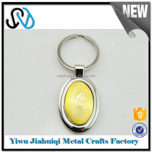 Hot china products wholesale globe metal keychain from online shopping alibaba