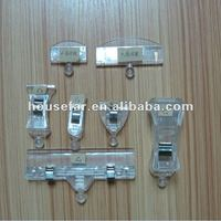 customized promotional plastic spring clip