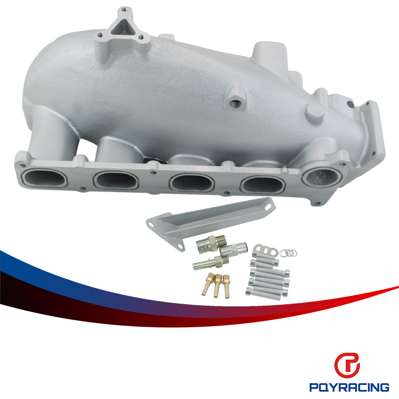 PQY RACING- NEW INTAKE MANIFOLD FOR MAZDA 3 MZR FOR FORD FOC** DURA*** 2.0/2.3 ENGINE CAST ALUMINUM INTAKE MANIFOLD PQY- IM49SL