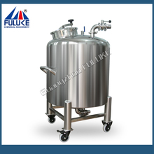 can be move with wheels Stainless Steel High Pressure Tank Pure Water Storage Tank