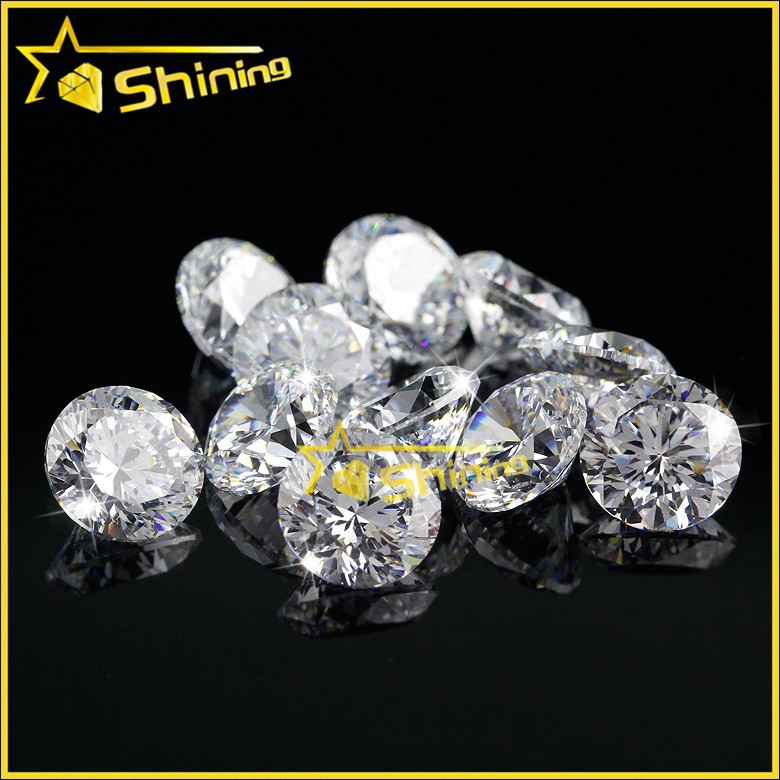 2015 China alibaba cubic zirconia round for jewelry marking, wholesales cubic zirconia