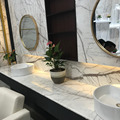 Restroom White Marble Vanity Countertop For Sale