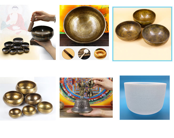 Handmade tibetan singing bowl