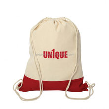 BeeGreen Promotion Soft cotton fabric drawstring backpack bag