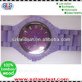 2014 hot sale wooden watch with different colors painting popular and fashional BW20B