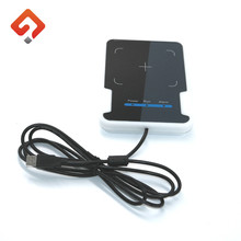 High quality Desktop style mini usb uhf rfid reader card writer for library books management
