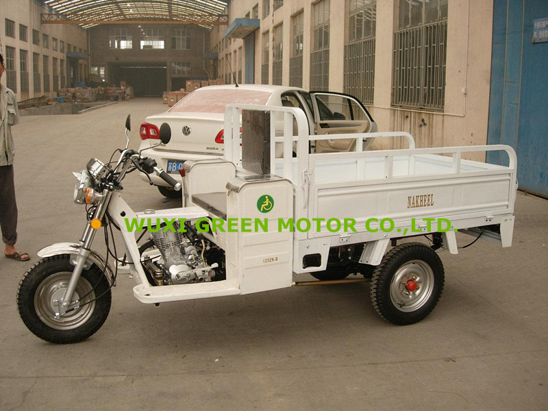 cargo tipper tricycles 125cc disabled people