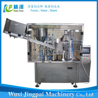Hot sale 2015 automatic plastic tube paste filling and sealing machine