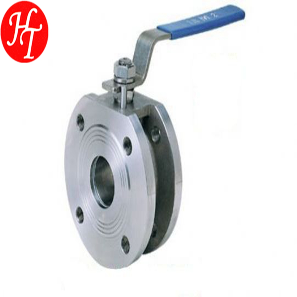 Free sanmples for 1 PC wafer stainless steel flanged ball valve made in China