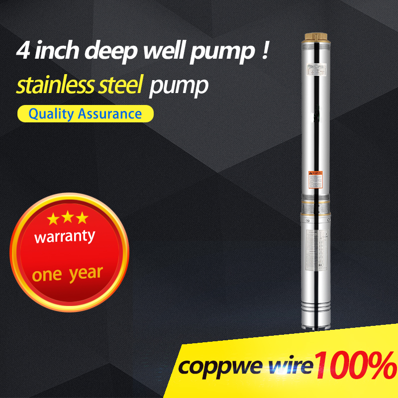 7.5hp submersible water pump stainless steel pump 2.2 kw