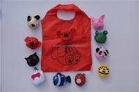 J429 cheap polyester folding shopping bag