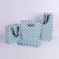 low cost polka dot paper gift bag Free sample supplier