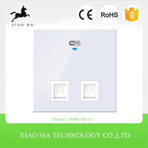 In Wall AP Wall mount Wireless Access Point Indoor Wifi AP Repeater Extender In Wall 100-240V Input Access Point XMR-XD-13