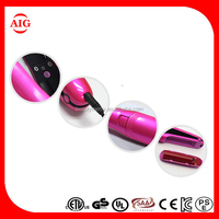 Mini cordless MCH flat iron Mini Portable Fashion Electric Hair Iron Water Transfer Printing Flat Iron