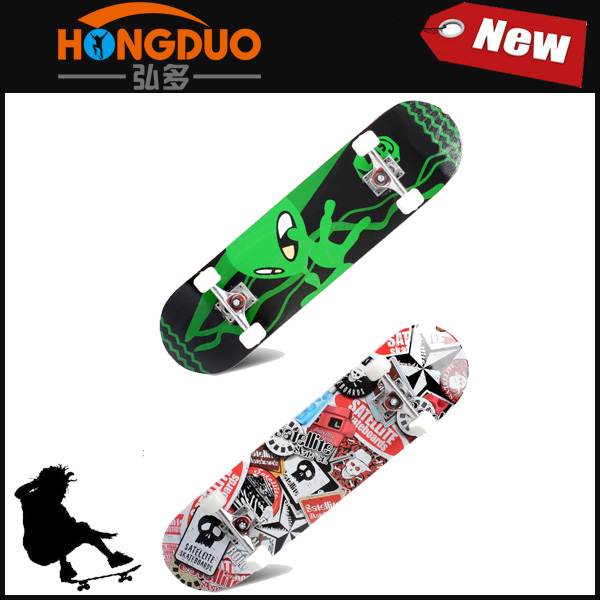 Custom skateboard 100 % Import Canadian Maple wood Deck, Cheap Skateboards Complete