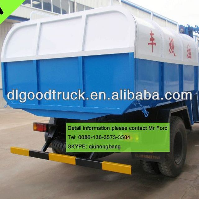 Dongfeng 8T 8000L Dustcart 0086-13635733504