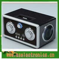 BAMBOO FM RADIO WITH USB/SD PLAYER SPEAKER