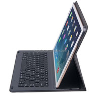 Wireless bluetooth keyboard for ipad with bluetooth ABS PU case ultra smart shell , G1505