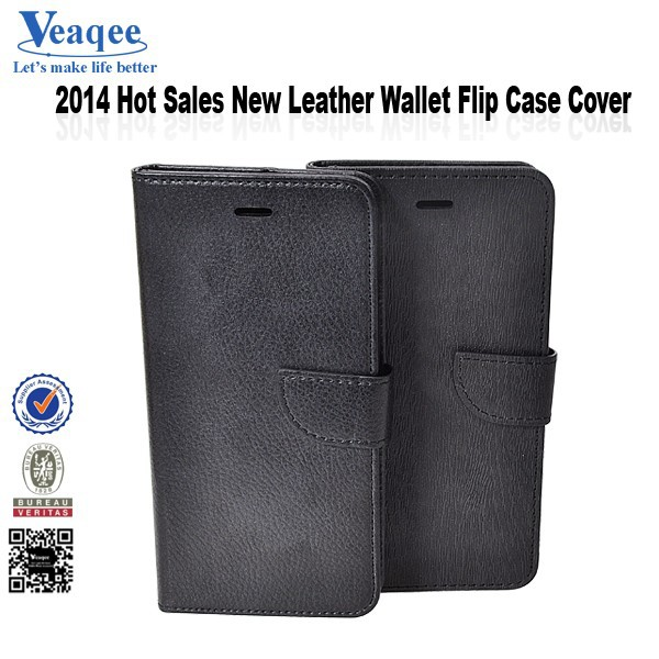 "Veaqee 5.5"" inch new arrival pu wallet leather case cover for iphone 6"