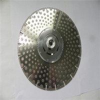 180mm key slot electroplated diamond disc saw blade for marble