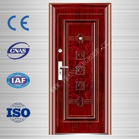 Cheap used exterior steel door steel security door for residential