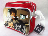 JUSTIN BIEBER Shoulder Messenger Gym Sport School College Bag A1