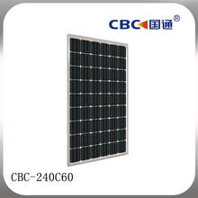 CBC Guotong CBC-240C60 Single crystal silicon solar cell