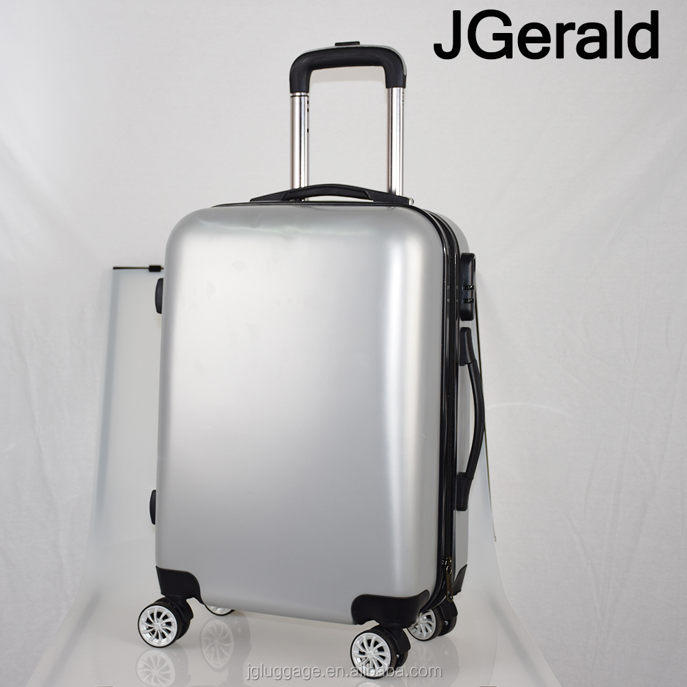 Travel trolley hard case/ABS and PC luggage bags can printing/printing suitcase