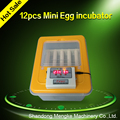 New Type 12 Eggs Mini Egg Incubator for Home Use/ Automatic Mini Hatcher with Promotional Price