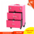 Elegant & Stylish outlook with compartments and drawers , nail polish holder box PVC cosmetic vanity case