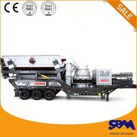 Newest mineral processing mobile hammer crusher