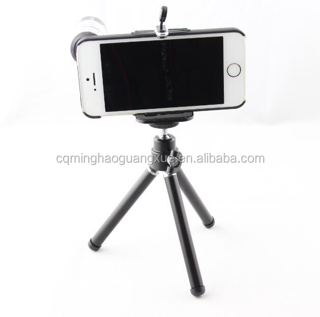 12x Zoom Mobile Phone Lens Kit Telescope for Iphone Samsung