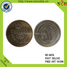 cheap university logo custom coin maker