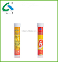 OEM Food Supplement and Fizzy Drink with Iron Effervescent Tablet